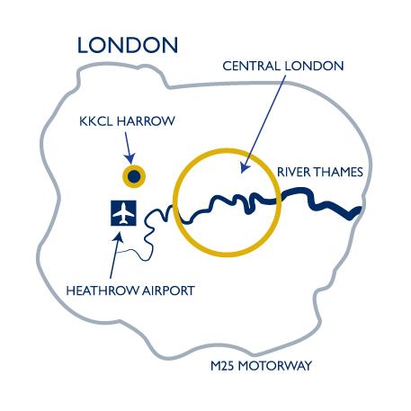 KKCL London Map